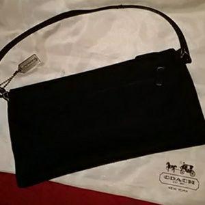 👁️ Elegant Coach Evening Bag Pouchet